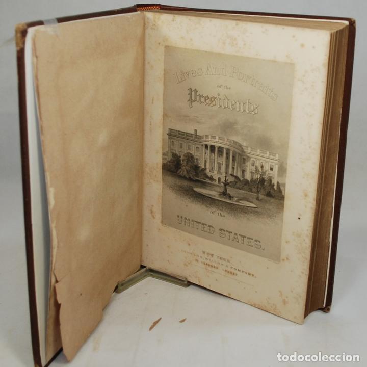 VIDAS Y RETRATOS DE LOS PRESIDENTES DE ESTADOS UNIDOS (1867) - EVERT A. DUYCKINCK (Libros Antiguos, Raros y Curiosos - Historia - Otros)