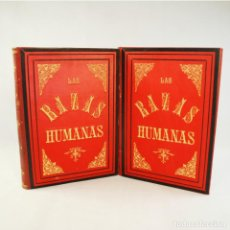 Libros antiguos: LAS RAZAS HUMANAS. Lote 74675297