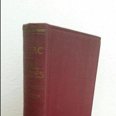 Libros antiguos: DROLL STORIES. BALZAC´S CONTES DROLATIQUES. THE ABBEYS OF TOURAINE. FIFTY ILLUSTRATIONS. EN INGLES.. Lote 74719043