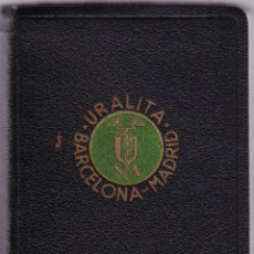 Libros antiguos: MANUALES URALITA - BARCELONA - MADRID - A. DE LANDALUCE - 1935. Lote 74761511