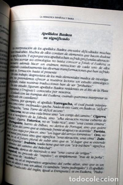 Libros antiguos: LA HERALDICA ESPAÑOLA Y BASKA - JOAQUIN RODOLFO ASIAIN Y CRESPO - BLASONES - TAPA DURA - Foto 5 - 74868047