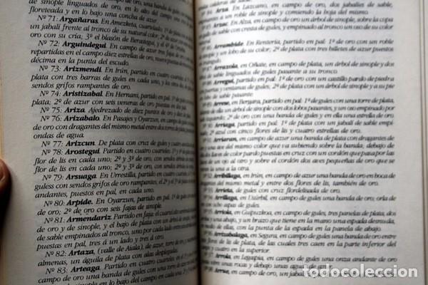 Libros antiguos: LA HERALDICA ESPAÑOLA Y BASKA - JOAQUIN RODOLFO ASIAIN Y CRESPO - BLASONES - TAPA DURA - Foto 6 - 74868047