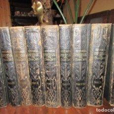 Libros antiguos: HISTORIA UNIVERSAL, POR CÉSAR CANTÚ, 9 TOMOS . Lote 74877211