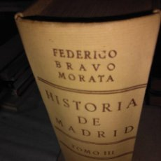 Libros antiguos: HISTORIA DE MADRID (TOMO III). Lote 74944035