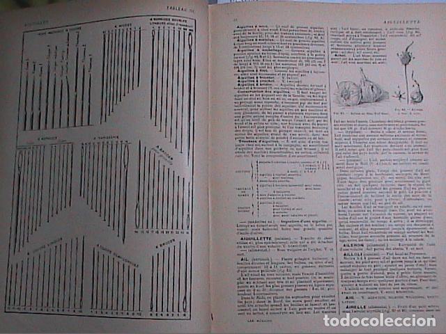 Libros antiguos: DICCIONARIO DOMÉSTICO ILUSTRADO.1926. LAROUSSE. EN FRANCÉS. - Foto 4 - 75090687