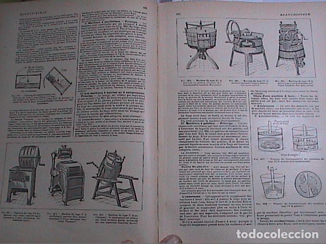 Libros antiguos: DICCIONARIO DOMÉSTICO ILUSTRADO.1926. LAROUSSE. EN FRANCÉS. - Foto 5 - 75090687
