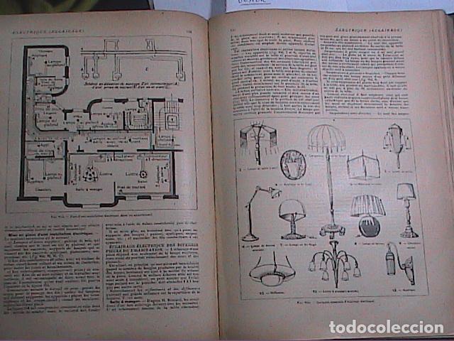 Libros antiguos: DICCIONARIO DOMÉSTICO ILUSTRADO.1926. LAROUSSE. EN FRANCÉS. - Foto 10 - 75090687