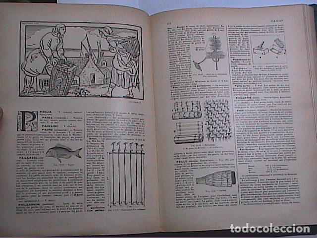 Libros antiguos: DICCIONARIO DOMÉSTICO ILUSTRADO.1926. LAROUSSE. EN FRANCÉS. - Foto 11 - 75090687