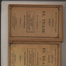Libros antiguos: EL TRAJE 1. EN LA ANTIGUEDAD. 2. EN LA EDAD MEDIA) GASTOS DE ENVIO GRATIS. Lote 75091311