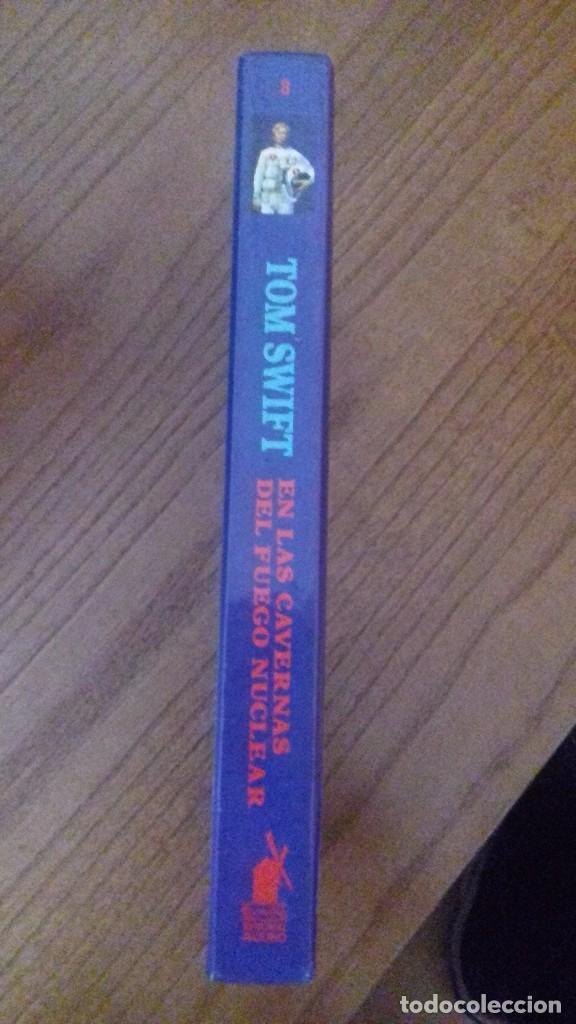 Libros antiguos: TOM SWIFT EN LAS CAVERNAS DEL FUEGO NUCLEAR - VICTOR APPLETON II - Nº8 - Foto 2 - 75115371