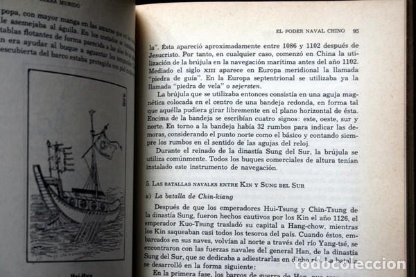 Libros antiguos: EL PODER NAVAL CHINO - Orígenes hasta la caída de la Dinastía Ming - DIN TA-SAN / OLESA MUÑIDO - - Foto 2 - 75147595