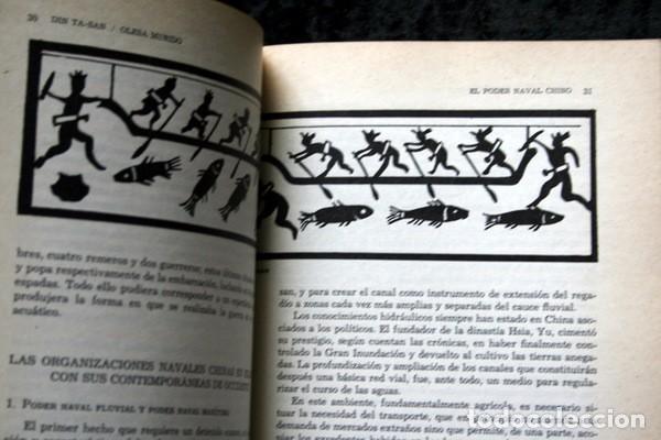 Libros antiguos: EL PODER NAVAL CHINO - Orígenes hasta la caída de la Dinastía Ming - DIN TA-SAN / OLESA MUÑIDO - - Foto 4 - 75147595