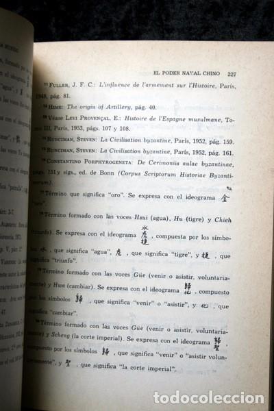Libros antiguos: EL PODER NAVAL CHINO - Orígenes hasta la caída de la Dinastía Ming - DIN TA-SAN / OLESA MUÑIDO - - Foto 5 - 75147595