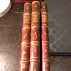 Libros antiguos: FERNÁNDEZ FONTECHA. CURSO DE ASTRONOMÍA NAÚTICA Y NAVEGACIÓN. TRES TOMOS. 1904. Lote 75152203