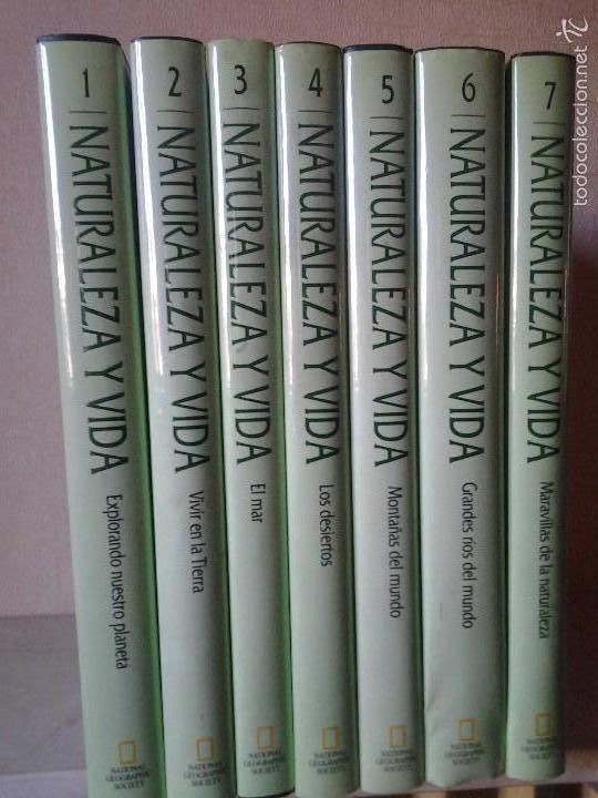 NATURALEZA Y VIDA -NATIONAL GEOGRAFIC (Libros Antiguos, Raros y Curiosos - Literatura - Otros)