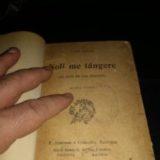 Libros antiguos: JOSE RIZAL, NOLI ME TANGERE, PRIMERA EDICION ESPAÑOLA.. Lote 75497679