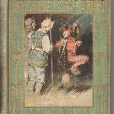 Libros antiguos: HISTORIAS DE SHAKESPEARE (ARALUCE S.F.) ILUSTRADO POR SEGRELLES. Lote 75511163