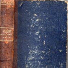 Libros antiguos: GEBHARDT : Hª GENERAL DE ESPAÑA Y DE SUS INDIAS TOMO II (1864) CON 15 GRABADOS. Lote 75513290