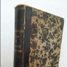 Libros antiguos: OEUVRES DE RABELAIS. PIERRE DUPONT. PARIS LECRIVAIN ET TOUBON 1859.EN FRANCES. ILLUSTRE GUSTAVE DORE. Lote 75692211