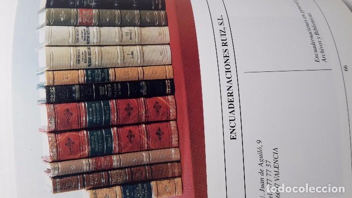 Libros antiguos: Encuadernadores valencianos siete siglos de artesania 1992 - Foto 5 - 171830537