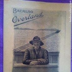Libros antiguos: LIBRILLO FASCIMIL BACALAO OVERLAND, RECETAS PARA COCINAR EL BACALAO. Lote 75774685
