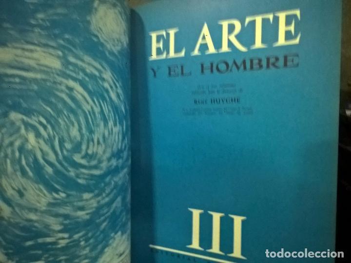 Libros antiguos: EL ARTE Y EL HOMBRE EN TRES TOMOS. PLANETA, BELLAMENTE ILUSTRADA. - Foto 3 - 75785019