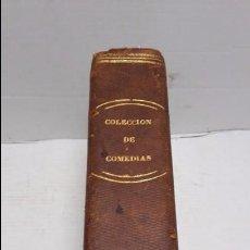 Libros antiguos: VARIAS COMEDIAS. VARIAS OBRAS DE VARIOS AUTORES RECOGIDAS EN ESTE TOMO. . Lote 75939435