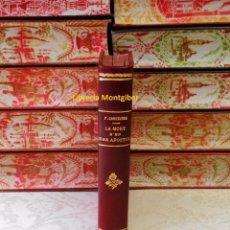 Libros antiguos: LA MORT D'EN JOAN APOSTOL / REUS EST MORTIS / L'AVI DELS MUSSOLS . AUTOR : COROMINES, PERE . Lote 76055023