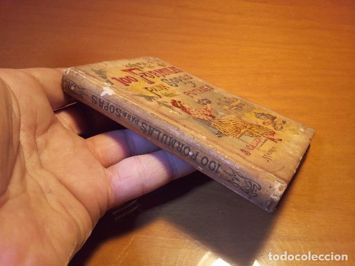 Libros antiguos: 100 FORMULAS PARA SOPAS Y POTAGES (Saturnino Calleja) [Mademoiselle ROSE - -(REF-1AC) - Foto 13 - 76174363