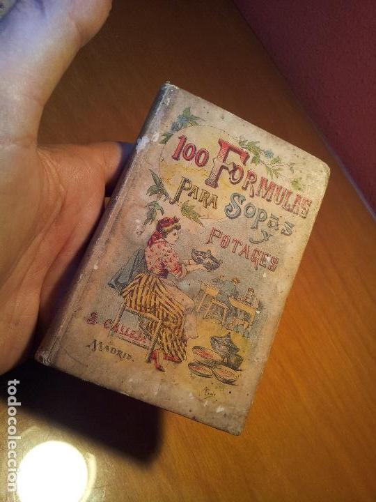 Libros antiguos: 100 FORMULAS PARA SOPAS Y POTAGES (Saturnino Calleja) [Mademoiselle ROSE - -(REF-1AC) - Foto 14 - 76174363