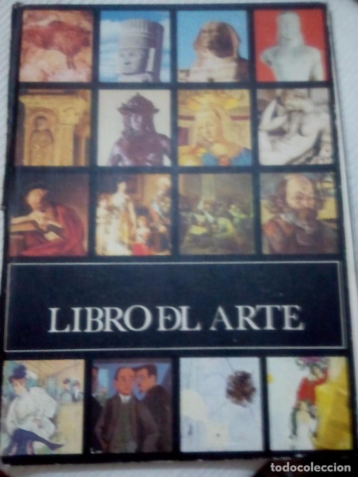 C2___LIBRO DEL ARTE.MIDE 30 X20 X1 .TAPA DETERIORADA. (Libros Antiguos, Raros y Curiosos - Bellas artes, ocio y coleccionismo - Otros)