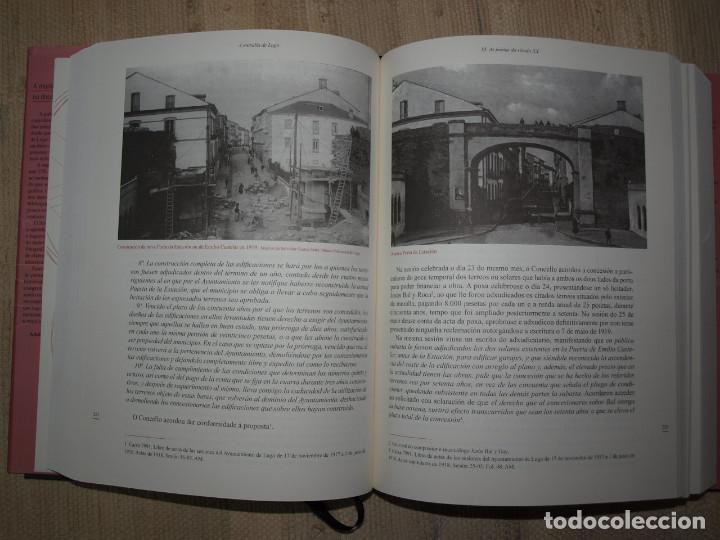 Libros antiguos: Adolfo de Abel Vilela. A Muralla Romana de Lugo na documentación dos séculos XVI ao XX. Galicia. - Foto 6 - 76385095