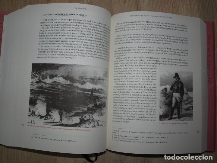 Libros antiguos: Adolfo de Abel Vilela. A Muralla Romana de Lugo na documentación dos séculos XVI ao XX. Galicia. - Foto 7 - 76385095