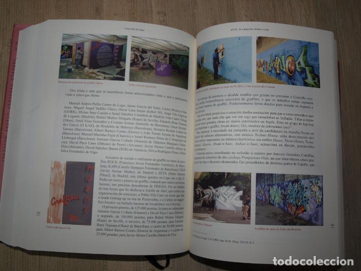 Libros antiguos: Adolfo de Abel Vilela. A Muralla Romana de Lugo na documentación dos séculos XVI ao XX. Galicia. - Foto 8 - 76385095