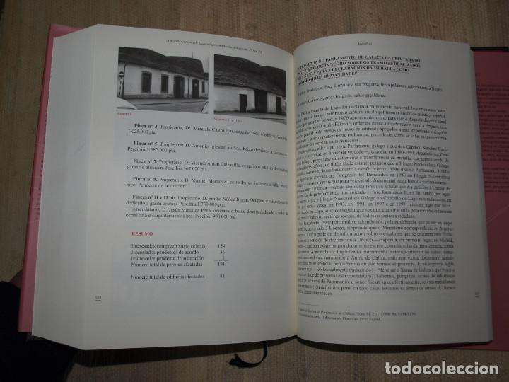 Libros antiguos: Adolfo de Abel Vilela. A Muralla Romana de Lugo na documentación dos séculos XVI ao XX. Galicia. - Foto 18 - 76385095