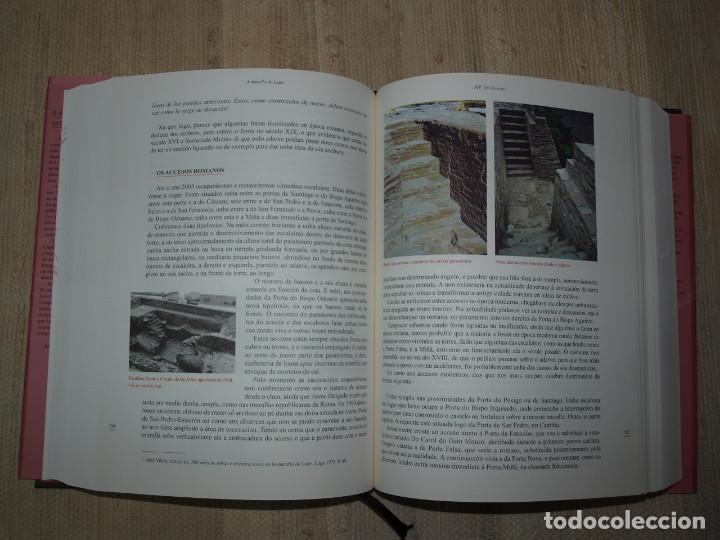 Libros antiguos: Adolfo de Abel Vilela. A Muralla Romana de Lugo na documentación dos séculos XVI ao XX. Galicia. - Foto 19 - 76385095