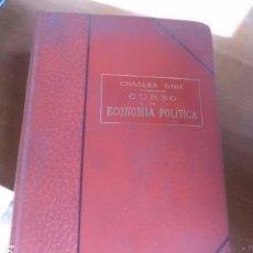 Alte Bücher - Libro Curso de Economía política Charles Guide 1916 L-10257-123 - 76490635