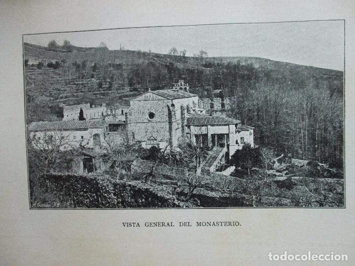 Libros antiguos: HISTORIA DEL MONASTERIO DE YUSTE. DOMINGO DE G. MARÍA DE ALBORAYA. 1906. - Foto 2 - 76492603