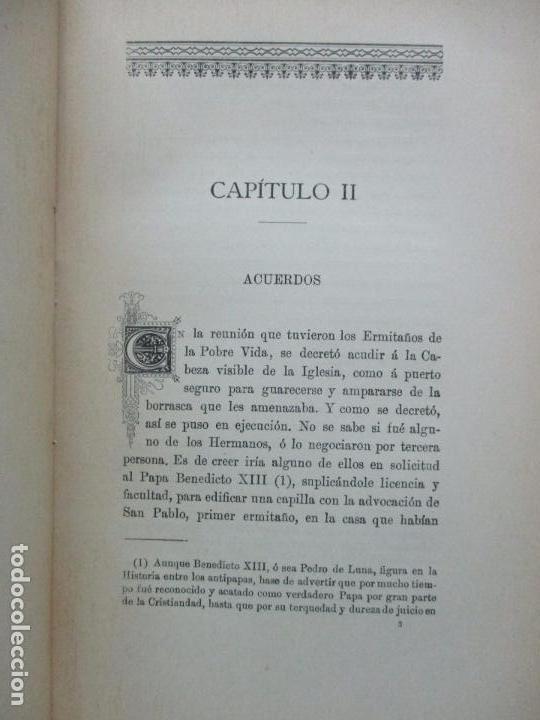 Libros antiguos: HISTORIA DEL MONASTERIO DE YUSTE. DOMINGO DE G. MARÍA DE ALBORAYA. 1906. - Foto 3 - 76492603