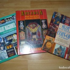 Libros antiguos: RARO LOTE LIBROS ANTIGUAS MÁQUINAS TRAGAPERRAS RECREATIVAS PIN BALL JUEGO PREDICCION. Lote 76523371