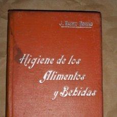 Libros antiguos: MANUALES SOLER HIGIENE DE LOS ALIMENTOS Y BEBIDAS. Lote 156966941