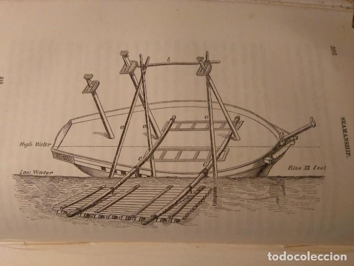 Libros antiguos: Alston, Lieut. A.H . Seamanship & its associated dues in the royal navy 1860 Aparejo Maniobra velero - Foto 6 - 76554803