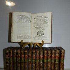 Libros antiguos: (M) ABAD M PLUCHE - ESPECTACULO DE LA NATURALEZA O CONVERSACIONES ACERCA DE LA HISTORIA NATURAL 1785. Lote 76624087