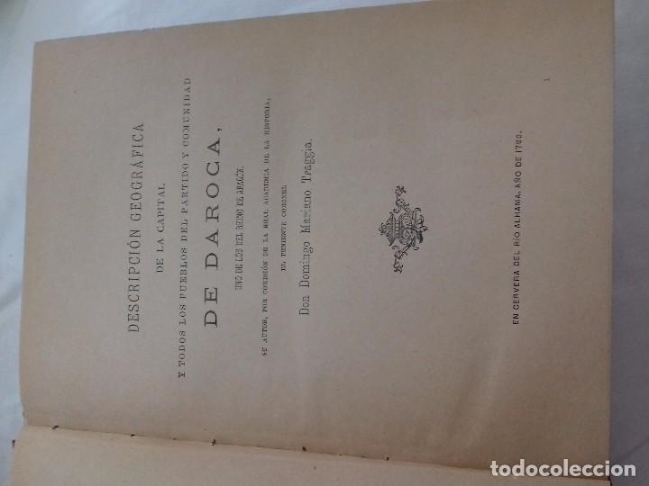 Libros antiguos: Documentos históricos de daroca y su comunidad - ARAGON -hospicio provincial, año 1. 915 por d. t - Foto 4 - 76678107