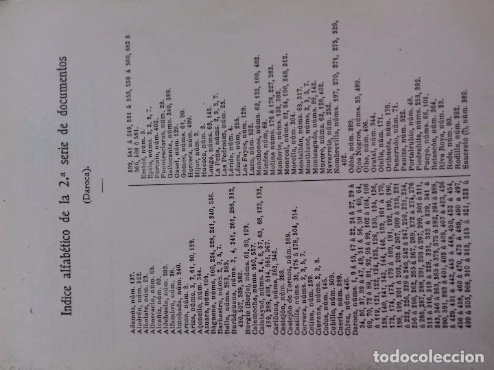 Libros antiguos: Documentos históricos de daroca y su comunidad - ARAGON -hospicio provincial, año 1. 915 por d. t - Foto 8 - 76678107