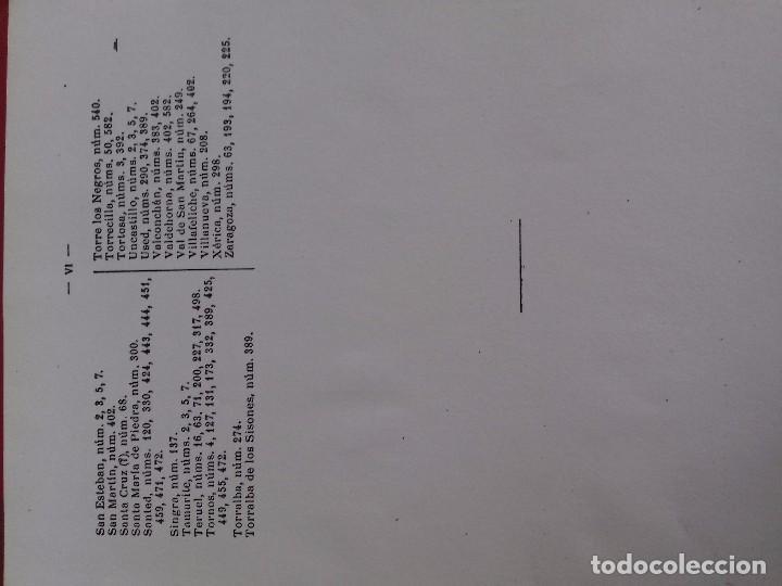 Libros antiguos: Documentos históricos de daroca y su comunidad - ARAGON -hospicio provincial, año 1. 915 por d. t - Foto 9 - 76678107