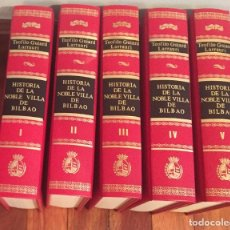 Alte Bücher - Historia de la Noble Villa de Bilbao - 76753895