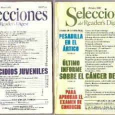 Libros antiguos: SELECCIONES READER'S DIGGEST OCT 1982 Y MAYO 1984. Lote 76790803