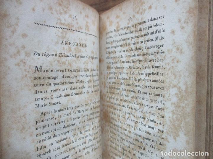 Libros antiguos: LITTERATURE DES DAMES OU MORCEAUX CHOISIES DES MEILLEURS AUTEURS ANCIENS ET MODERNES. C. 1812. - Foto 7 - 76840363