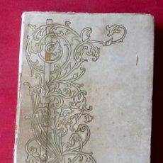 Libros antiguos: NOVELA CATALANA 1905. LA FAMILIA DELS GARRIGAS. EDICION ESPECIALEL ENVIO ESTA INCLUIDO.EN EL PRECIO.. Lote 76888035